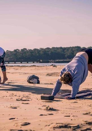 Beach Yoga Plage Vieux boucau
