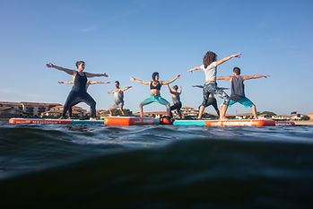 SUP Yoga Vieux Boucau 2