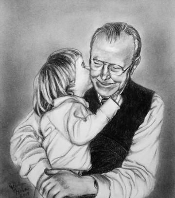 Grandpa & Little Girl