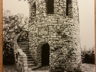 Tower in Winterset