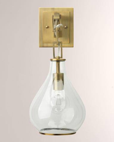 Tear Drop Hanging Wall Sconce_HC