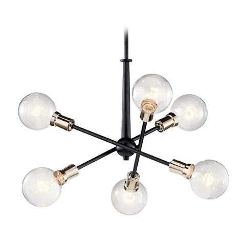 Armstrong 6 Lt Mini Chandelier