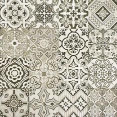 Nouveau Random Gray Natural Porcelain
