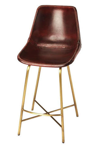Butler Commercial Leather Bar Stool