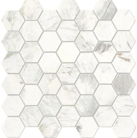 Raine Hexagon_Stratus White