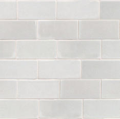 Nabi Glacier White 3x6 Ceramic