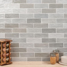 Portmore Gray 3x8 Glazed Ceramic