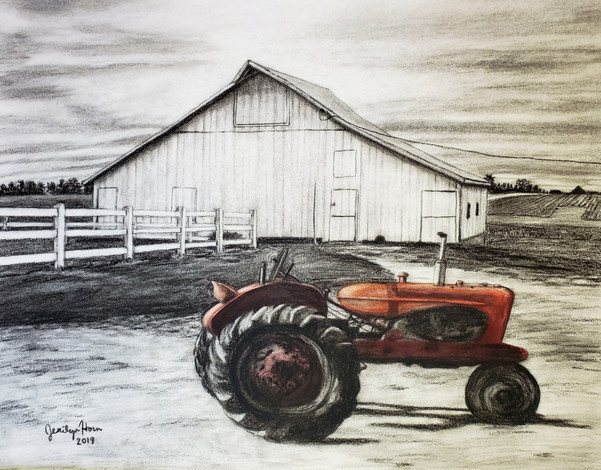Allis Chalmers & Farm