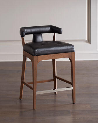 Moderno Leather Counter Stool