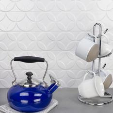 Norwalk Deco White 4x24 Polished Ceramic