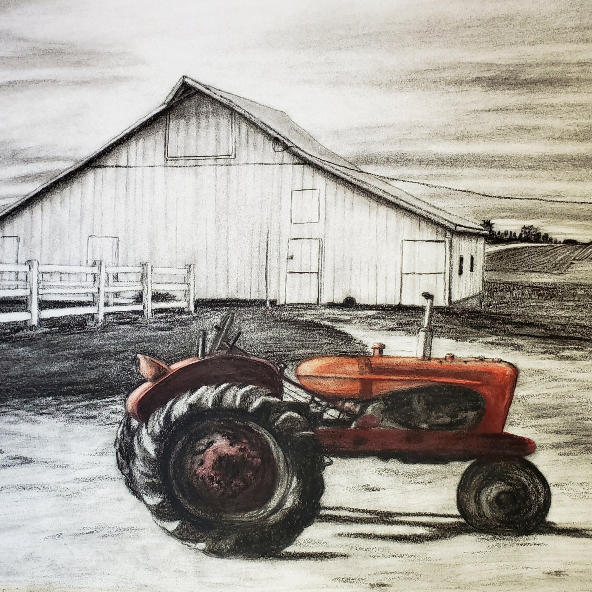 Charcoal with Color Gallery