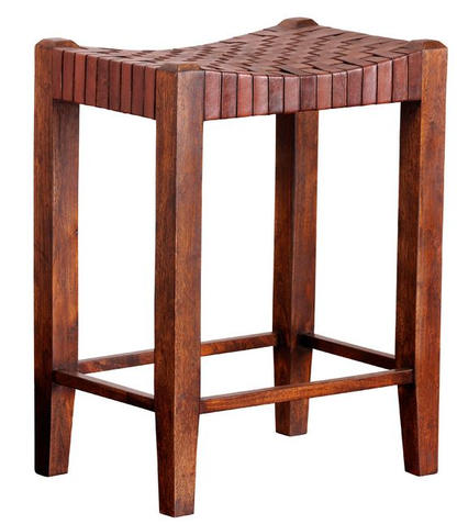 Saddle Seat Counter Stool Sienna Brown a