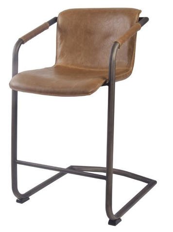 Indy PU Leather Counter Stool Antique Ci