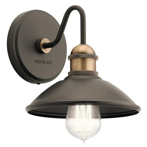 Farmhouse Sconce Olde Bronze