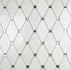 Reflection Diamond White Thassos & Mirror