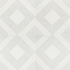 Auteur Diagonals Ash 9x9 Porcelain