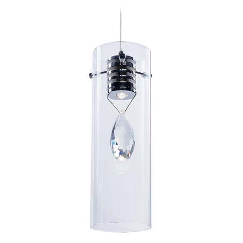 Solitaire 1 Lt LED Pendant