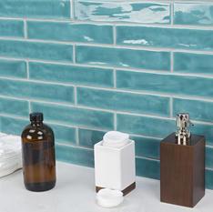 Seaport Aquamarine 2x10 Polished Ceramic