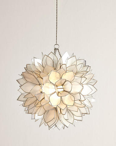 Flower Burst 1-Lt Mini Pendant