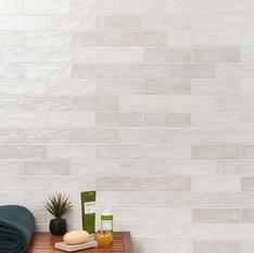 Portmore White 3x8 Glazed Ceramic