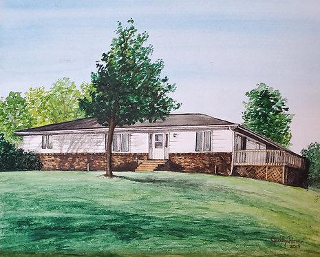 Custom Home Exterior (Simple)