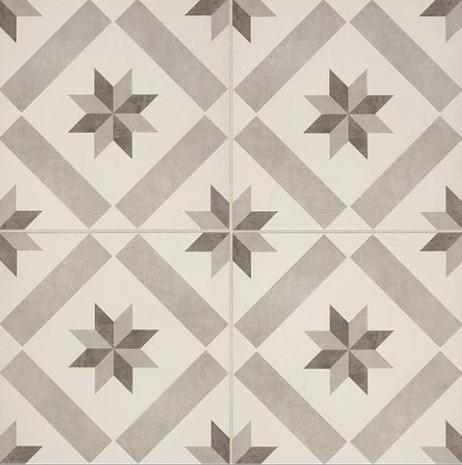Memoir Glazed Ceramic 12x12_Star
