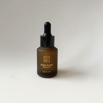 CBD Beauty Oil Rose Squalane (600mg)  Lilibel