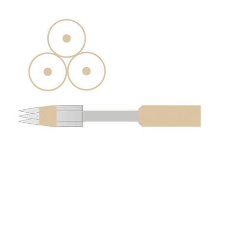 LCN - 3er S-Nadeln outline für das BeautyPad Pro 3.0