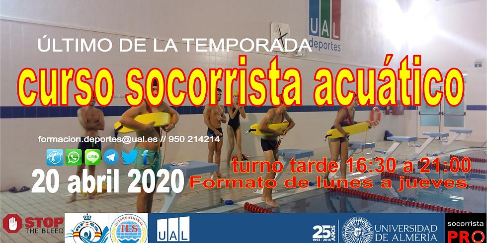 Curso Socorrista Acuático RFESS en UAL Deportes