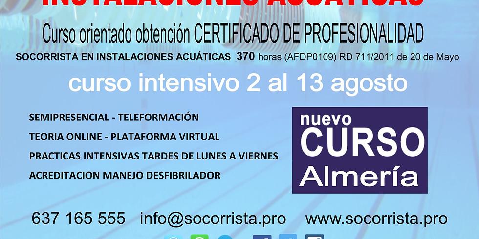 Socorrista en Instalaciones Acuáticas SIAC Almería