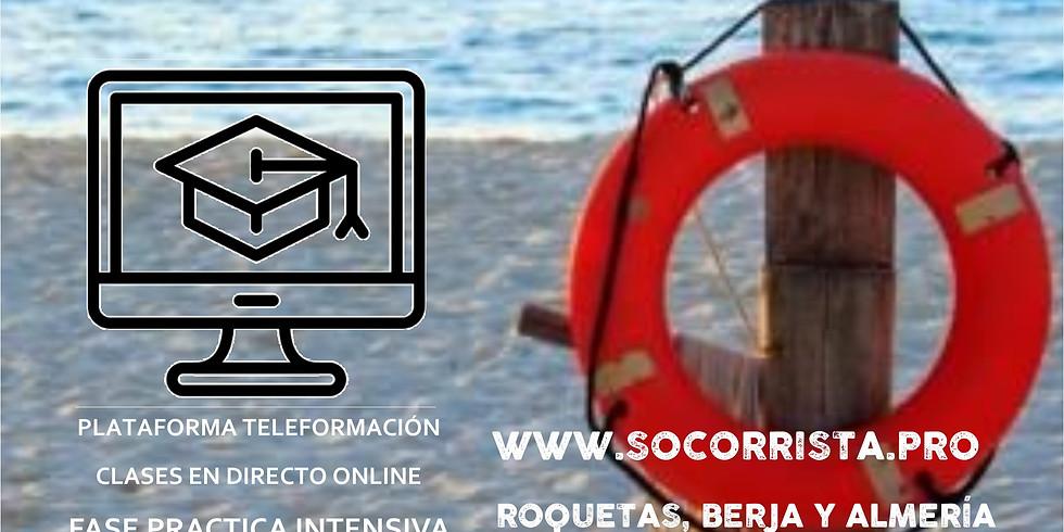 Curso Socorrista Acuático RFESS #Semipresencial #Teleformación