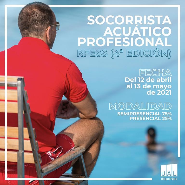 Curso Socorrista Acuático RFESS UAL Deportes 4ª Ed
