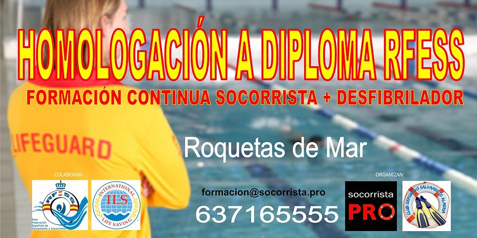 Homologación a diploma RFESS