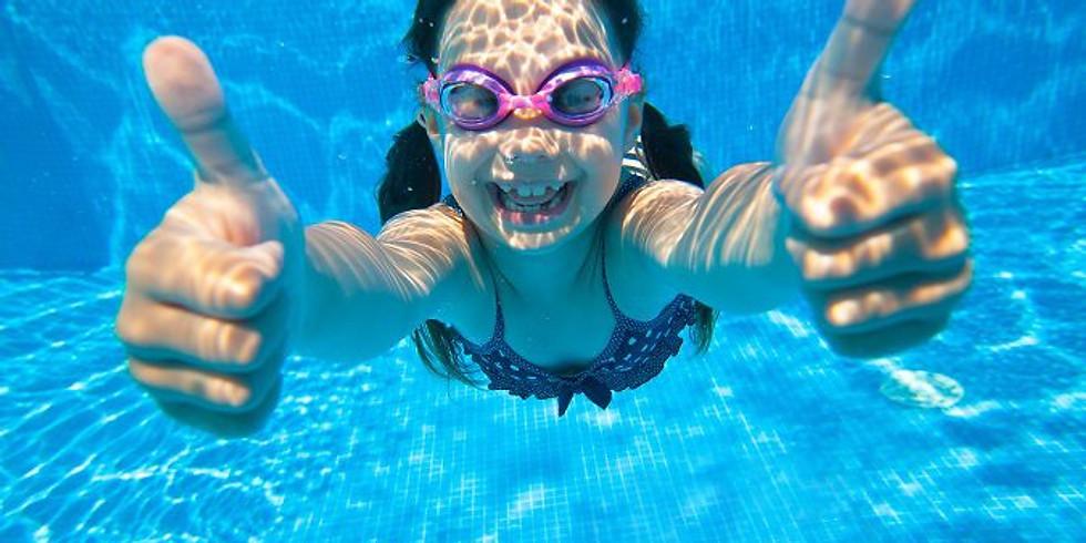 Natación juveniles 11-15 años 5 días - lunes a viernes