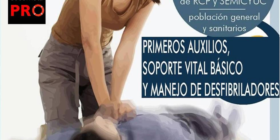 PRIMEROS AUXILIOS SVB Y DESA