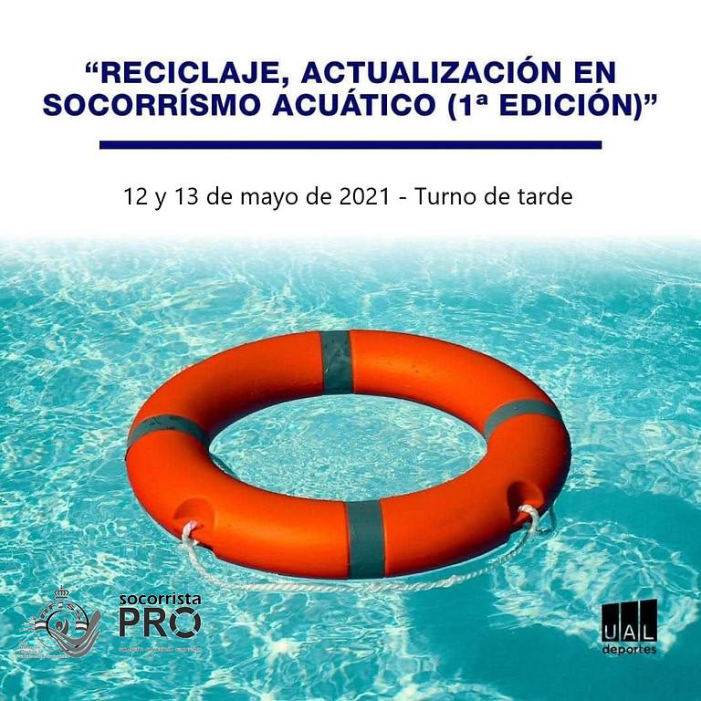 CERTIFICADO RECICLAJE UAL - Formación continua socorrista acuático 2ED