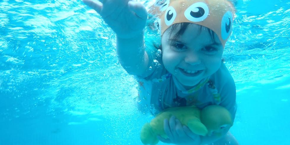 Natación Benjamines 3-5 años 3 días - lunes, miércoles y viernes