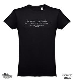 2 Camiseta Negra Hombre El Me DIJO Delan