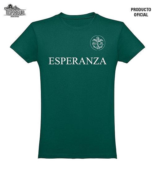 "Camiseta ""Esperanza""-Verde"