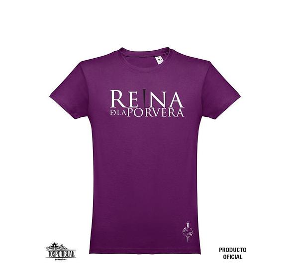 """Camiseta """"Reina de la Porvera"""""""