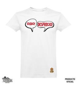 20 Camiseta Blanca OIDO DESPRECIO escudo