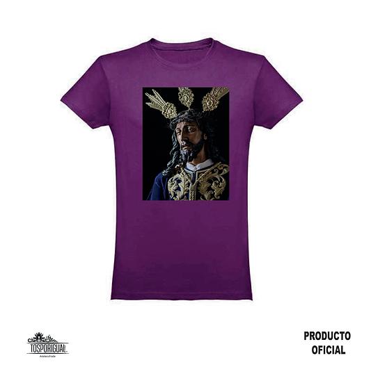 "Camiseta ""Cristo"" - Morado"