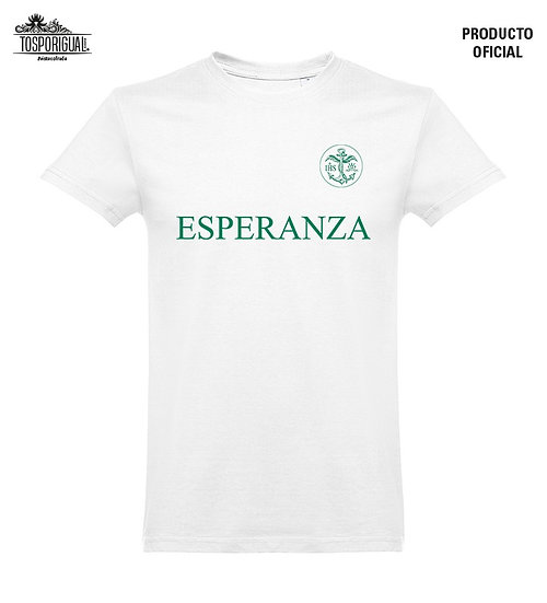 "Camiseta ""Esperanza""-Blanco"