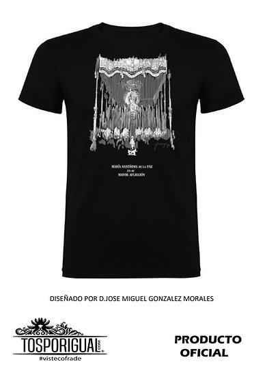 Camiseta Coronación Palio Negra
