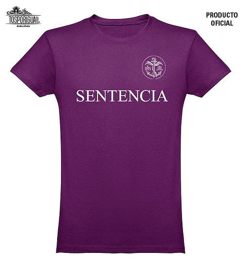 """Camiseta """"Sentencia"""" - Morado"""