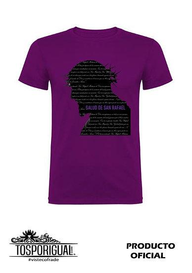 "Camiseta ""San Rafael"" Morada"