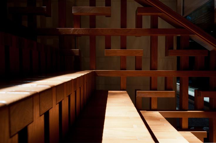 Деталь лестницы