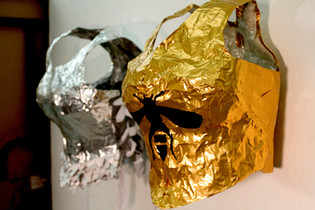 Armour (silver and gold)