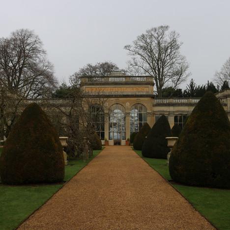 mind palace research, Castle Ashby UK, 2019