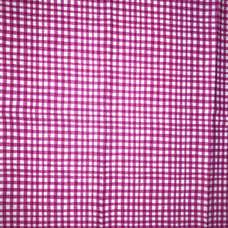 13E. Hot Pink Check